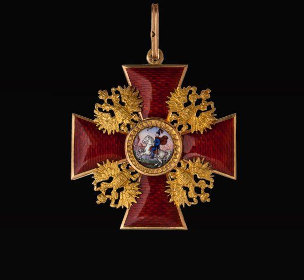 Знак ордена Святого Александра Невского