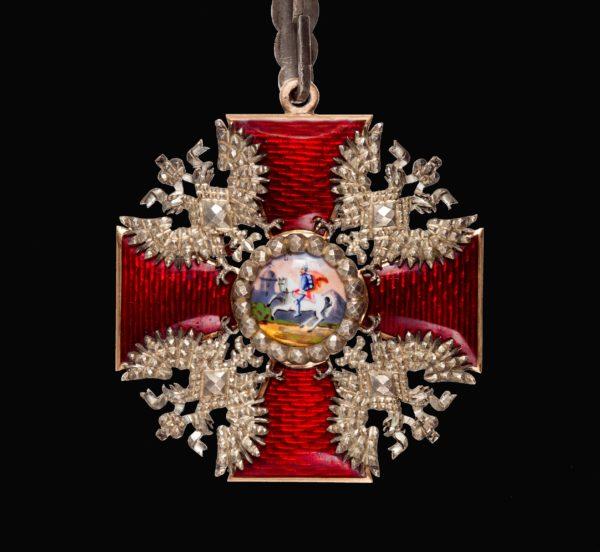 Знак ордена Святого Александра Невского «алмазной огранки»