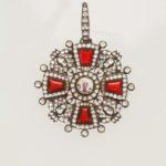 Знак ордена Святой Анны II степени «с алмазами»