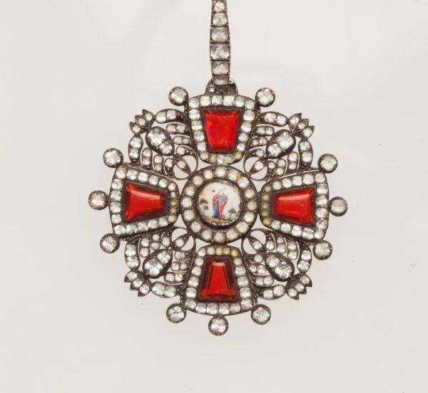 Знак ордена Святой Анны 2-й степени «с алмазами»