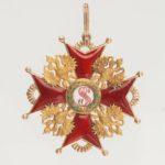 Знак ордена Святого Станислава I степени
