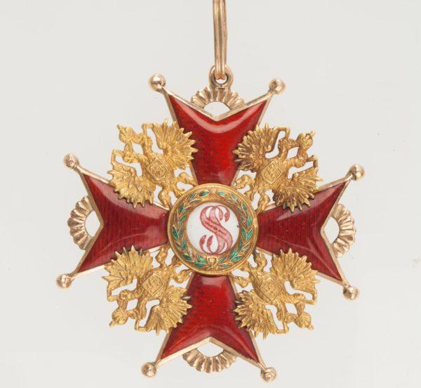 Знак ордена Святого Станислава 1-й степени