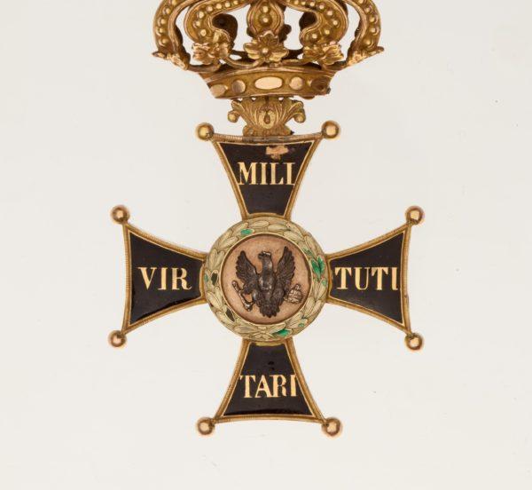 Знак ордена Virtuti Militari 2-й степени