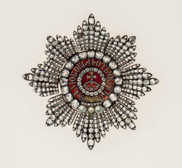 звезда ордена Святой Екатерины «с бриллиантами»