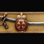 Наградная сабля с орденом Святой Анны IV степени. Фрачная копия