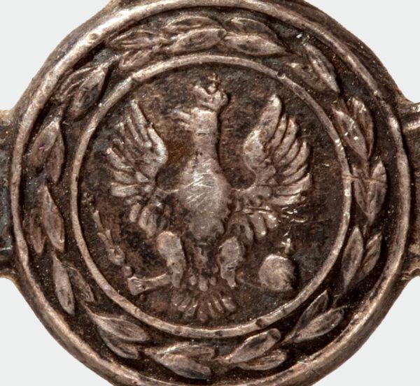 фрагмент Знака ордена VIRTUTI MILITARI 4-й степени