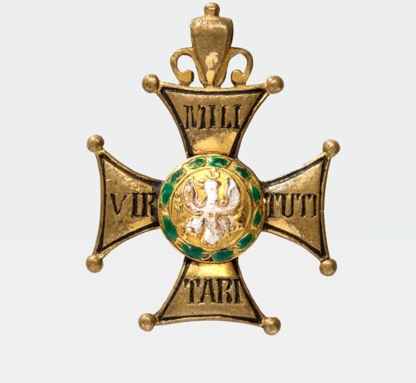 Знак ордена Virtuti Militari 5-й степени